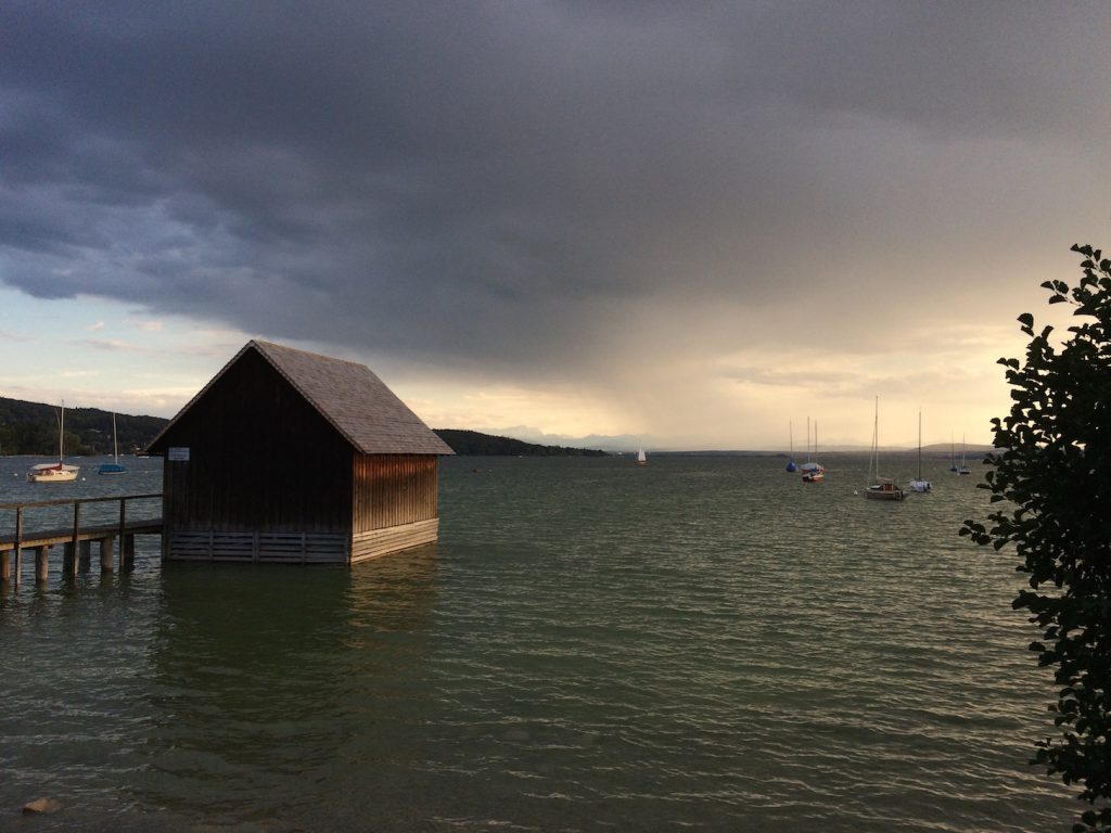 Nordseite der Herrschinger Bucht am 11.09.2015